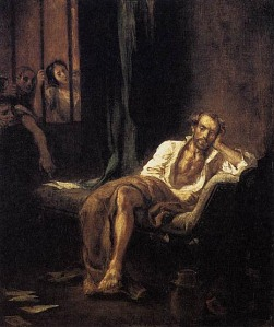 DELACROIX_Eugene_Tasso_in_the_Madhouse_1839