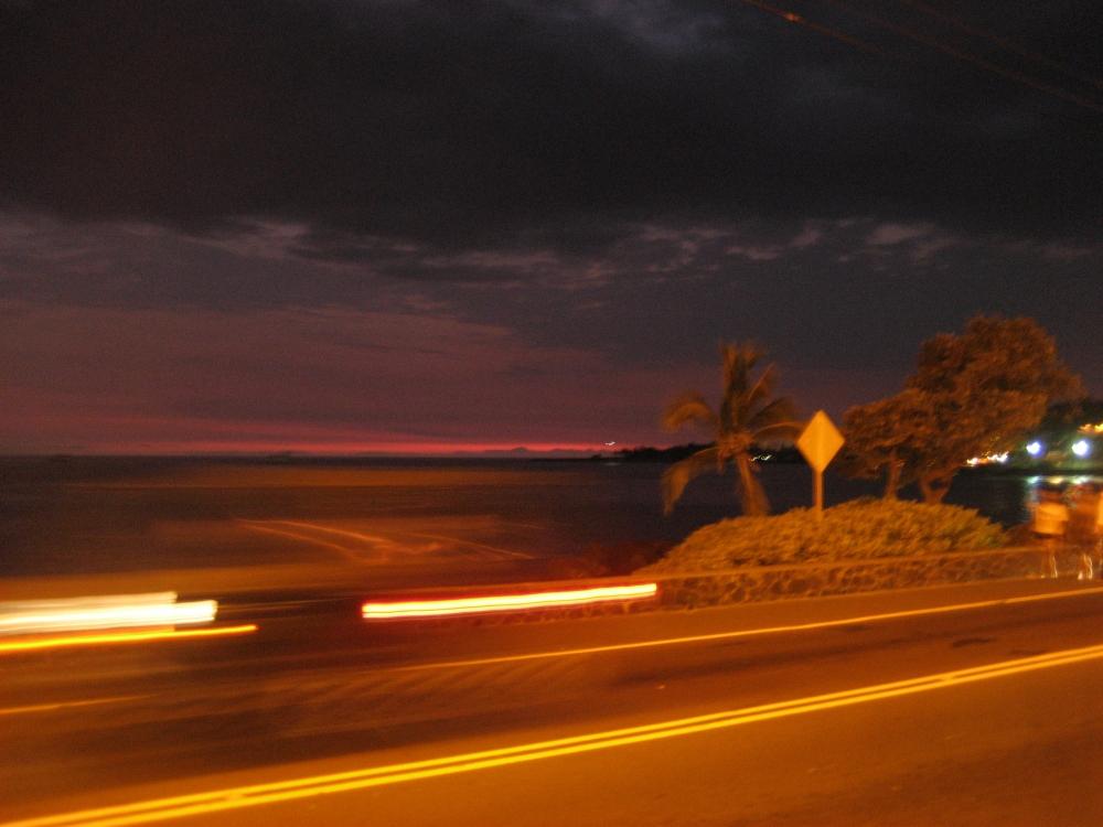 Twilight in Hawaii