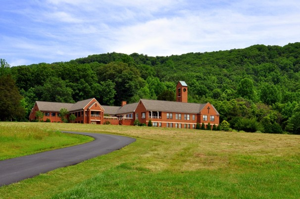My favorite House of God, Our Lady of the Angels in VA. Click the picture to view an article about the monastery.
