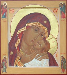 Our Lady of Korsun Icon written by reinkat