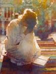 Praying-woman