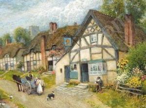 The Village Coffee Shop, Arthur Claude Strachan